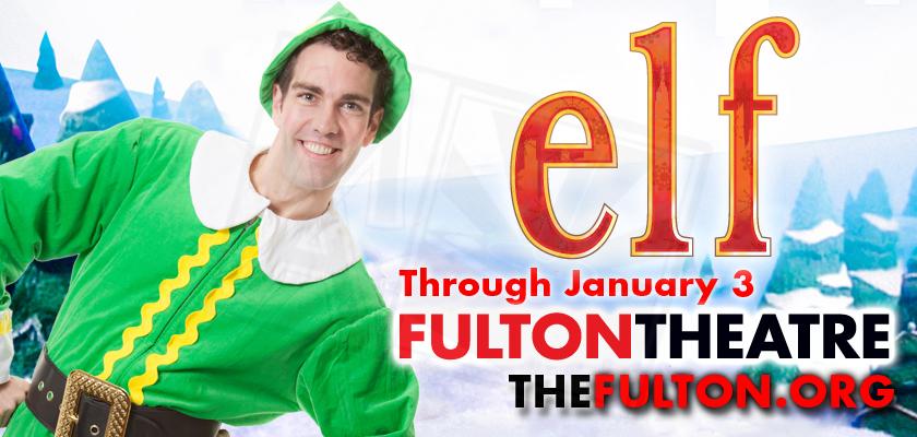 Elf the Musical Billboard 1