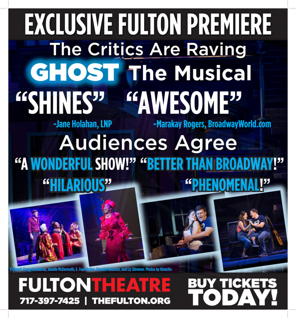 Critics are Raving - Ghost the Musical Newspaper Ad