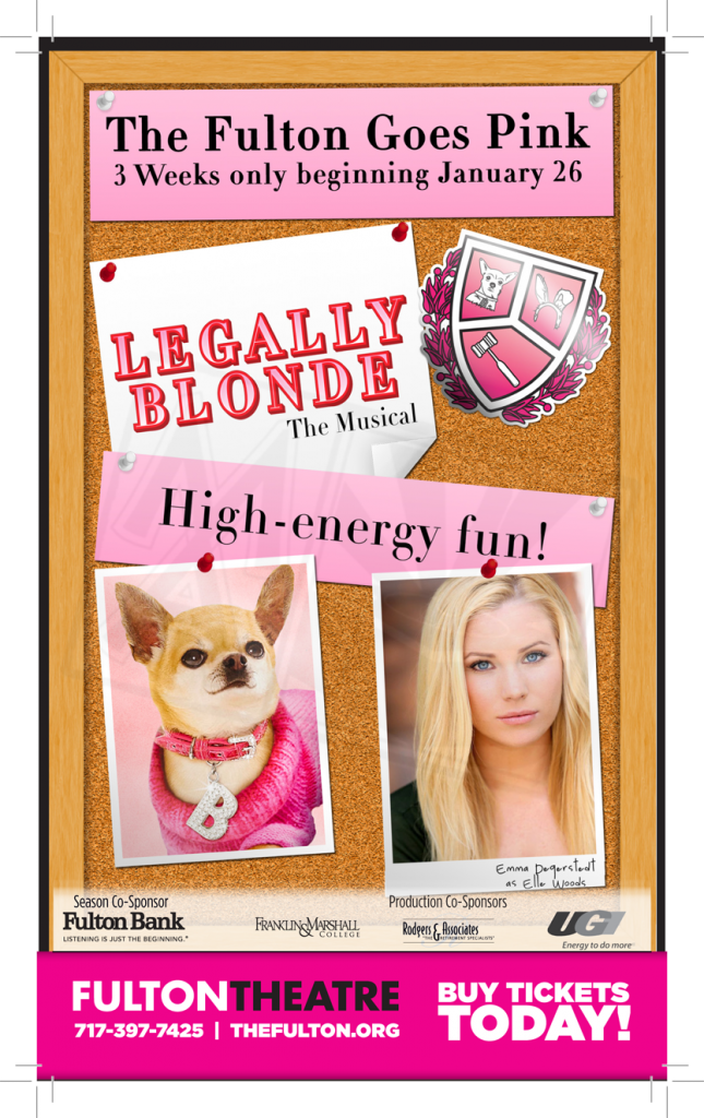Legally Blonde Newspaper Ad