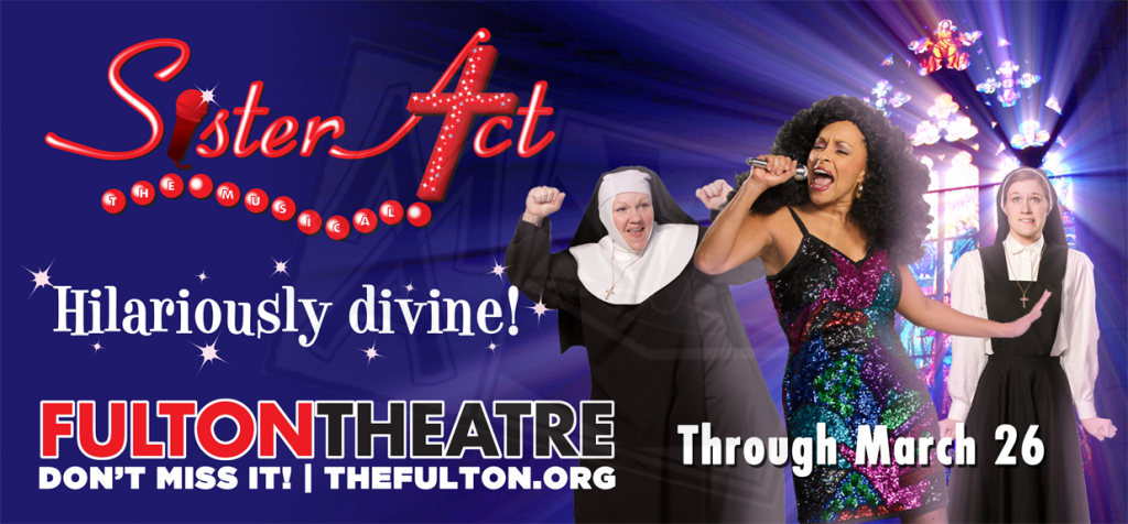 Sister Act the Musical Billboard