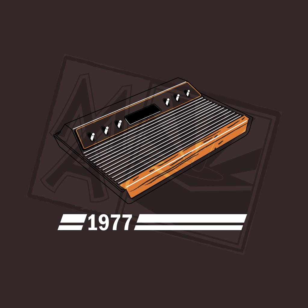 History of Gaming - 2600 T-Shirt Design
