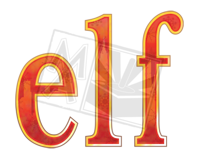 Elf the Musical Title Treatment