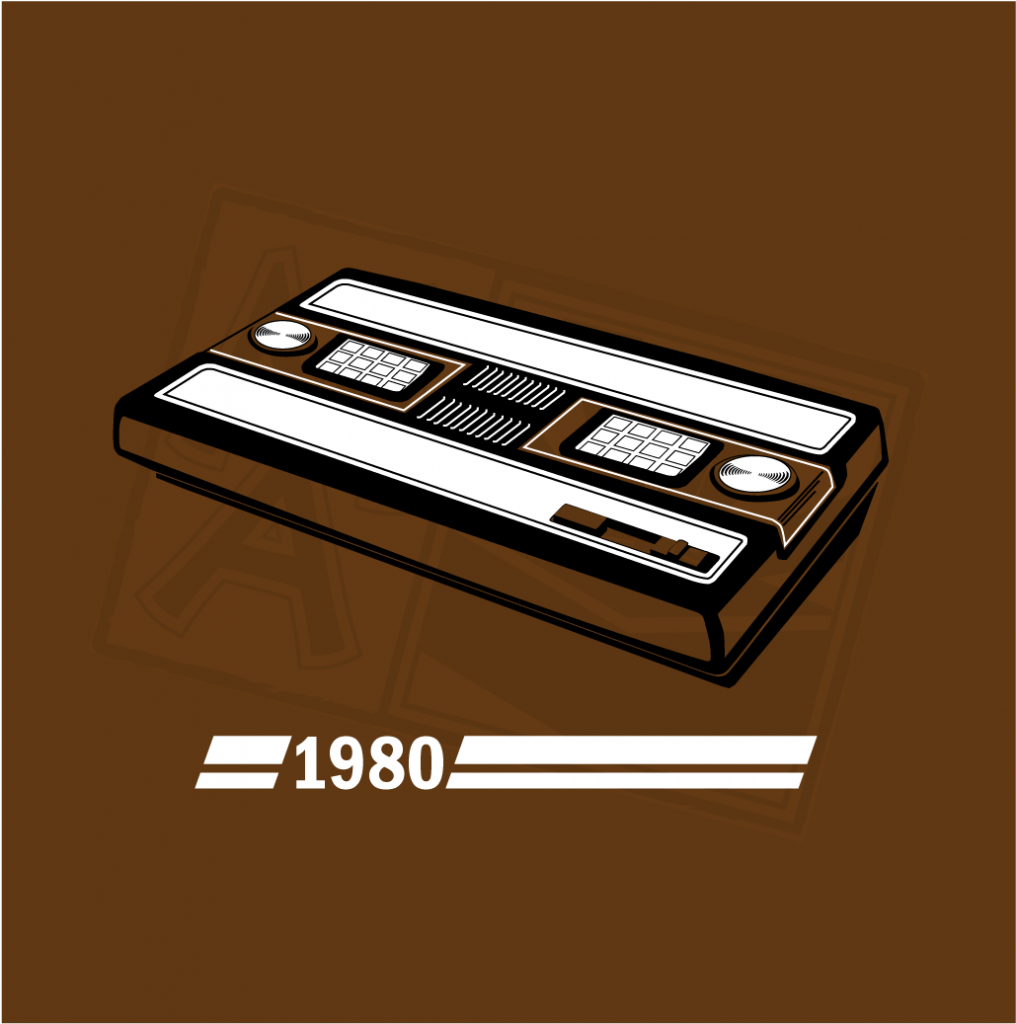 History of Gaming - Intellivision T-Shirt Design