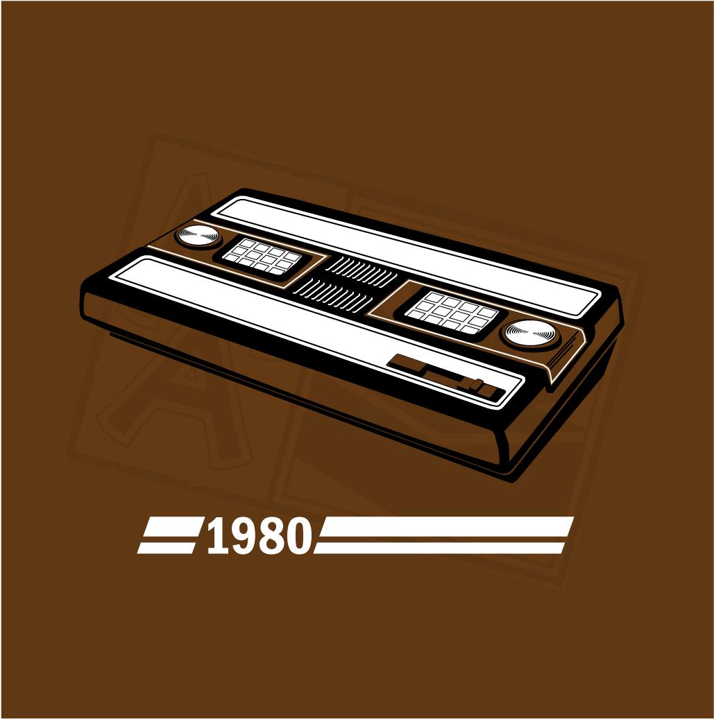 Shirt design history - History Of Gaming Intellivision T Shirt Design
