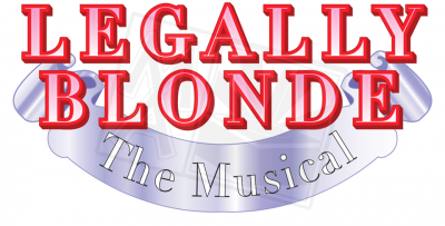 Legally Blonde the Musical Title Treatment