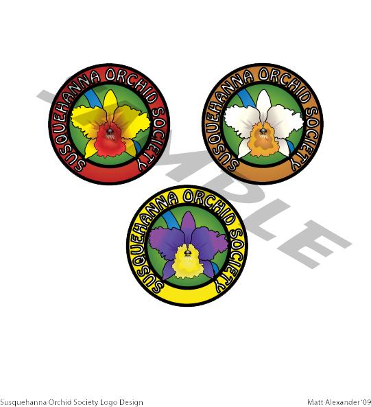Susquehanna Orchid Society logo