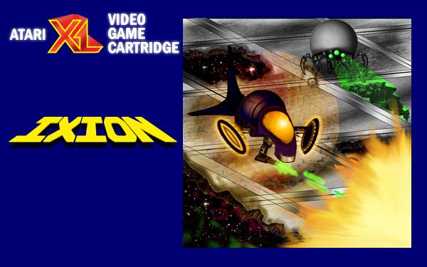 Ixion Atari XL cartridge label
