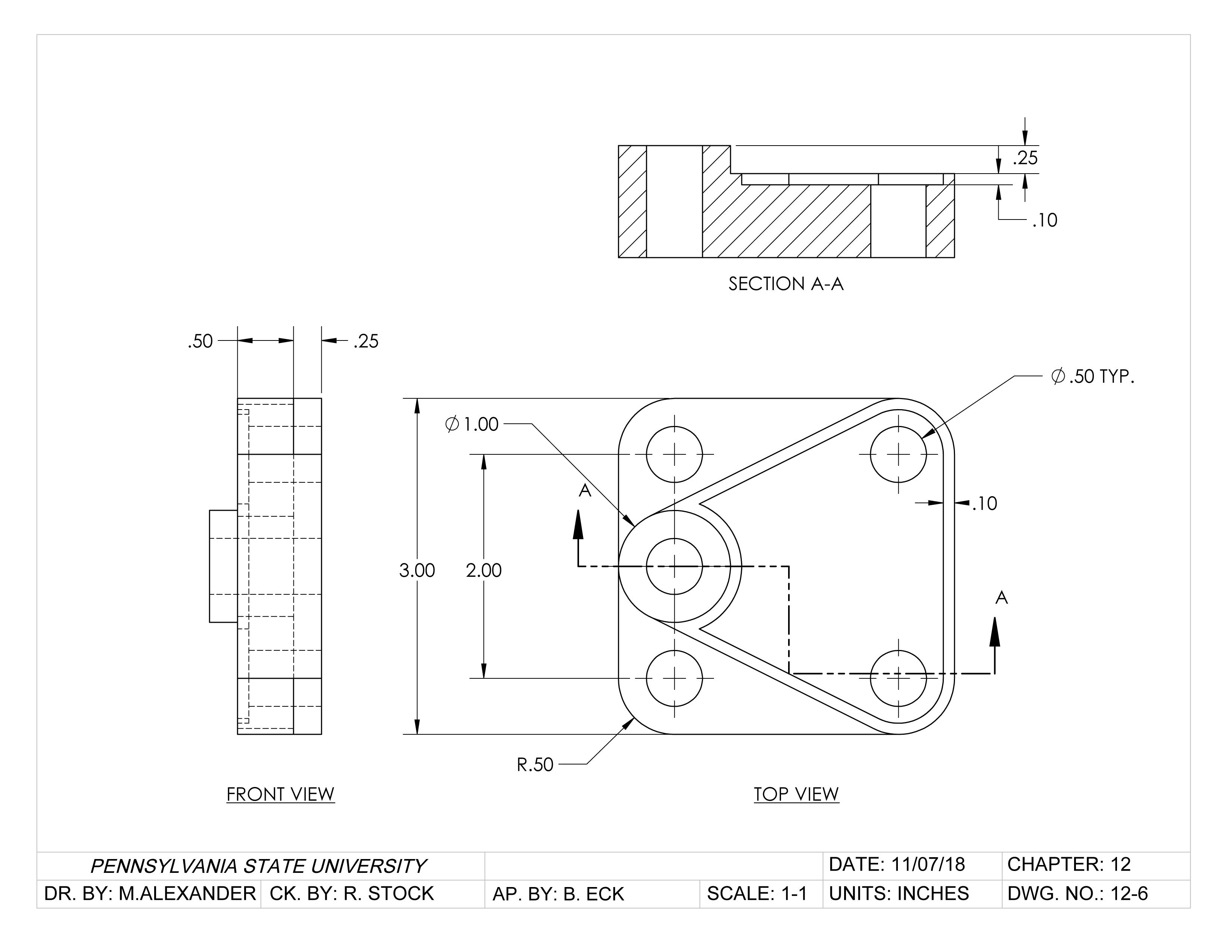 Anchor Base - Solidworks
