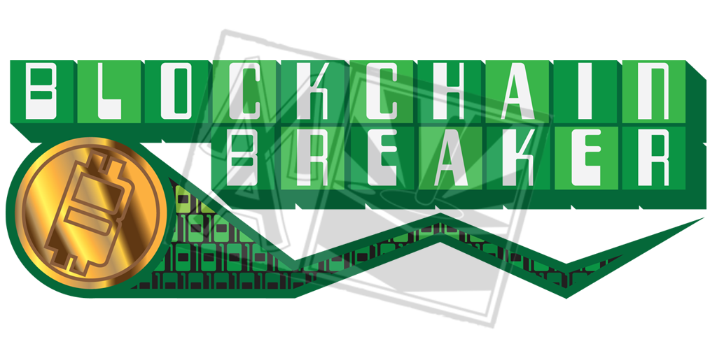 Blockchain Breaker Title Treatment